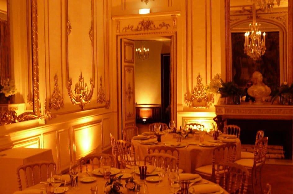 Eclairage diner prestige Musée